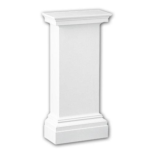 Profhome118001 Half column pedestal Column Deco  element