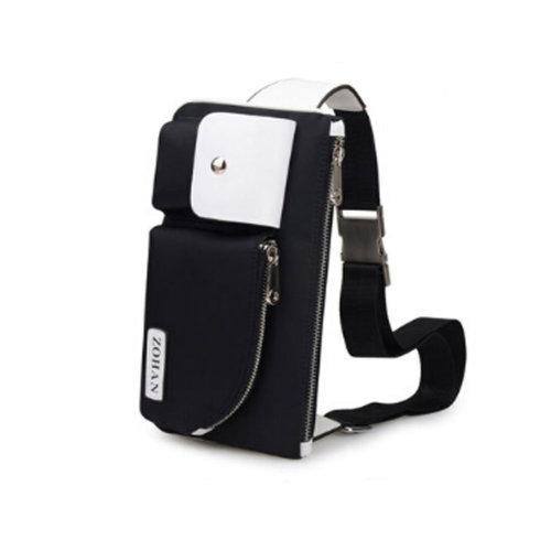 Durable Multifunctional Men and Women's Wrist Bag Sport Bag Black