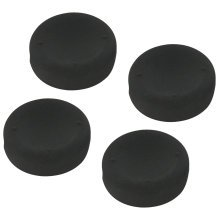 ZedLabz concave soft silicone thumb grips for Sony PS4 controller analog sticks - 4 pack black