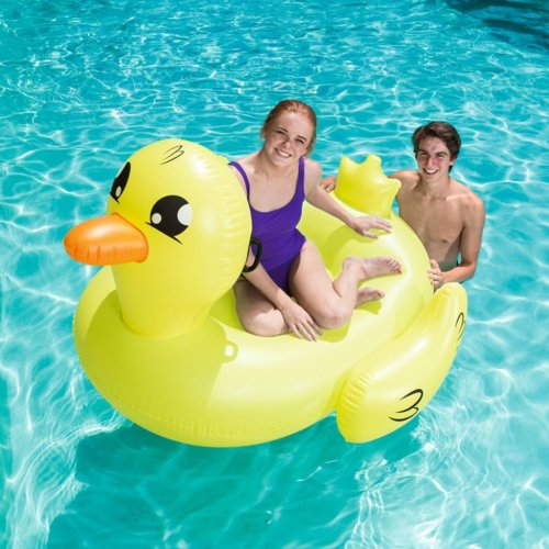 Bestway Pool Ride-on Jumbo Duck Docoda Yellow 41106