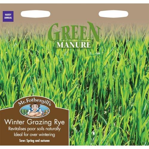 Mr Fothergills - Pictorial Packet - Green Manure Winter Rye - 1000 Seeds