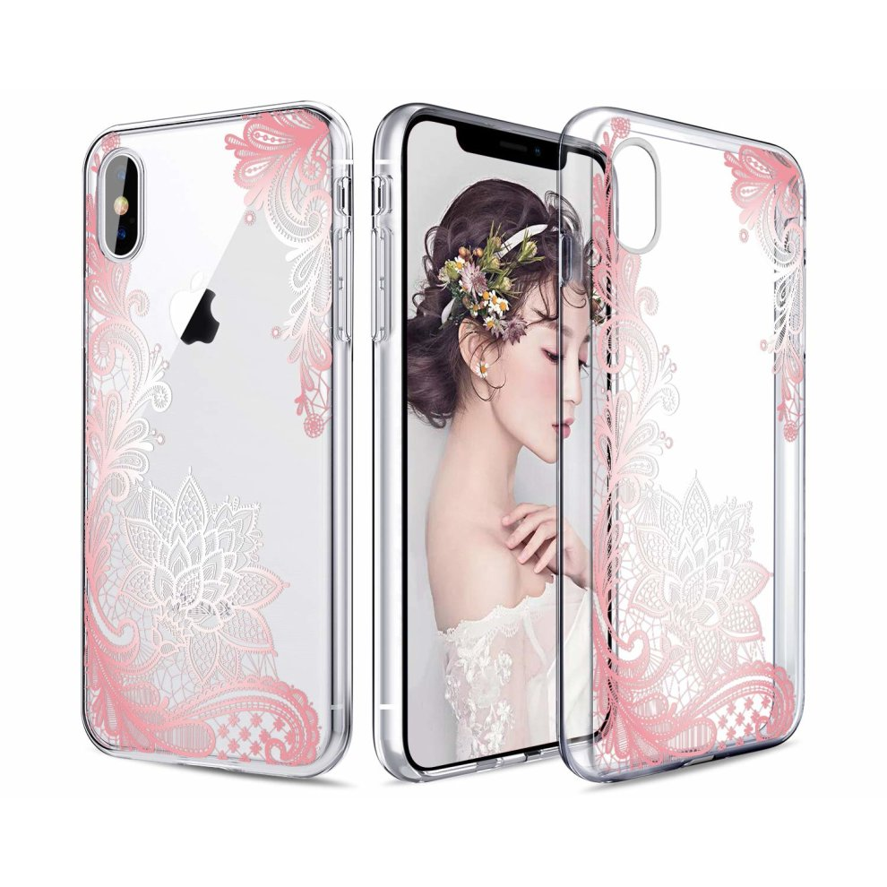 Casetego Compatible Iphone Xs Max Case Clear Soft Flexible Tpu Case