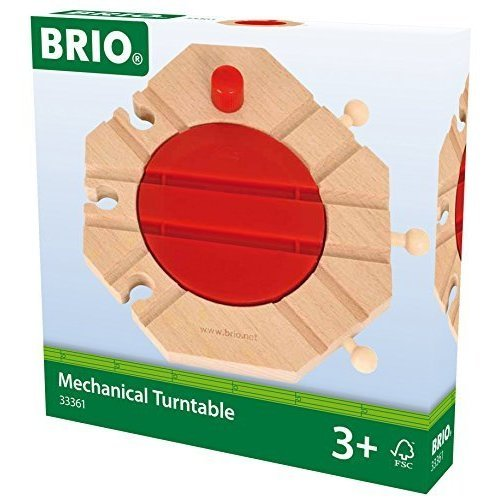 BRIO Track - Mechanical Turntable