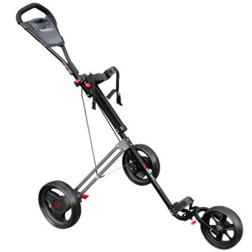 Masters Junior 5 Series 3 Wheel Push Golf Trolley Black