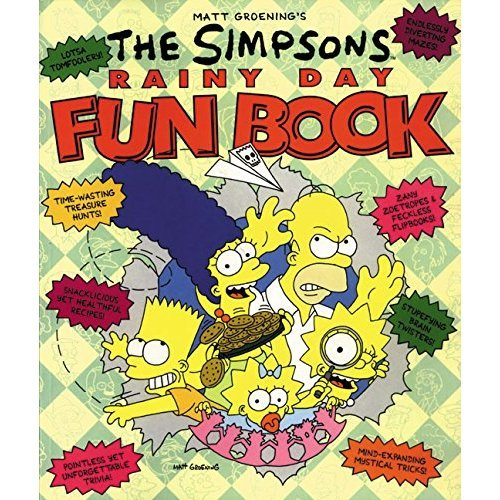 The Simpsons Rainy Day Fun Book: An Activity Book for All Ages