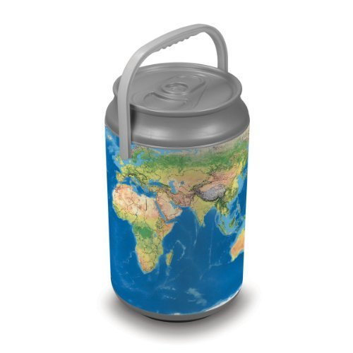 Oniva A Picnic Time Brand Mega Insulated Can Cooler Earth