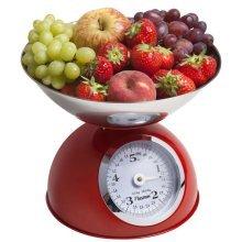 Bestron Kitchen Scales Hot Red DKW700R
