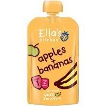 Ellas Kitchen Stage 1 Apples & Bananas 120g