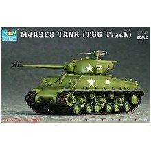 Tru07225 - Trumpeter 1:72 - Sherman M4a3e8 (t66 Track)