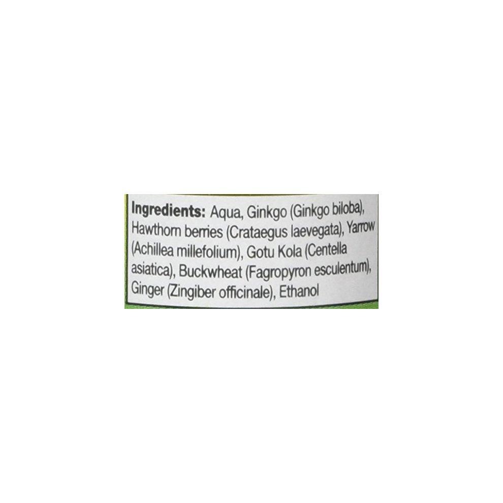 HealthAid Circulation Formula (Ginkgo, Hawthorn, Yarrow) Liquid 50ml