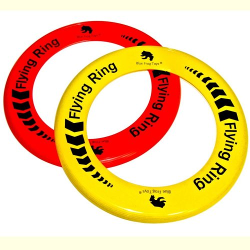 Pack of 100 Flying Rings - Fun Outdoor Summer Toys - Garden Frisbee Type Toys