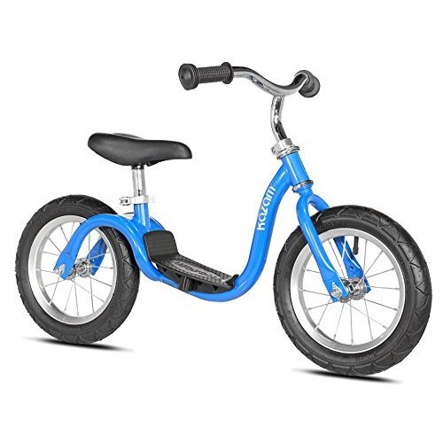 KaZAM v2s No Pedal Balance Bike, 12-Inch, Metallic Bright Blue
