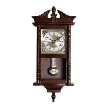Acctim Westbury Radio Controlled Large Dark Wooden Westminster Chiming regulator Quartz Wall Clock with pendulum