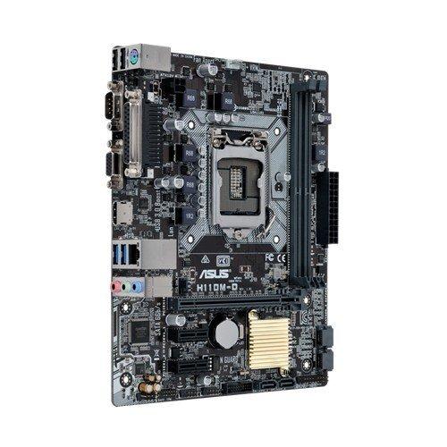 Asus H110m-d Intel H110 Lga1151 Micro Atx Motherboard