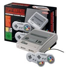 Classic Mini Super Nintendo Entertainment System SNES Console + 20 Games Bundle