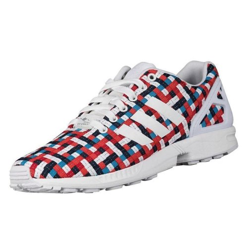 83fcc9dfdba13 adidas Originals Unisex ZX Flux Woven Trainers Multi Coloured on OnBuy