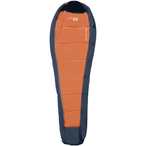 Yellowstone Ultra Lite 175 Sleeping Bag Orange 1 season 220 x 80 x 50cm