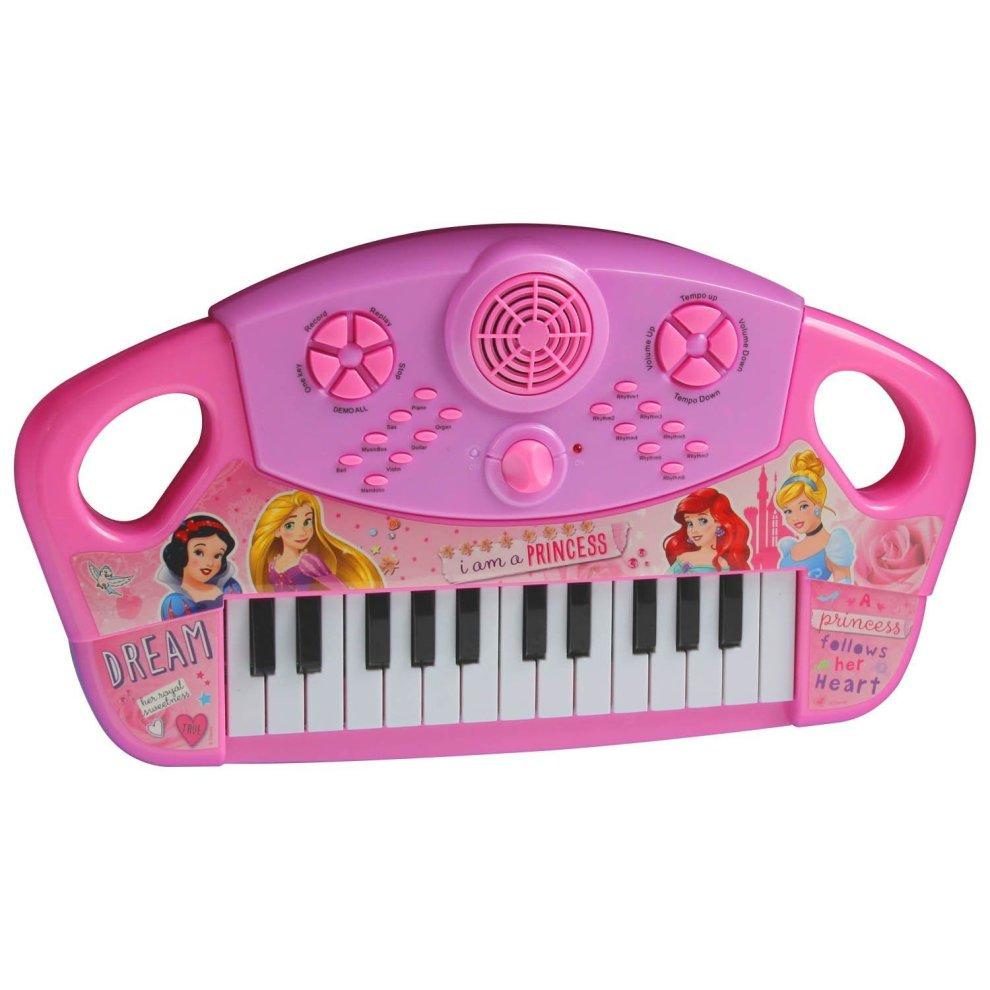 Disney Princess Children Kids Large Piano Keyboard Organ