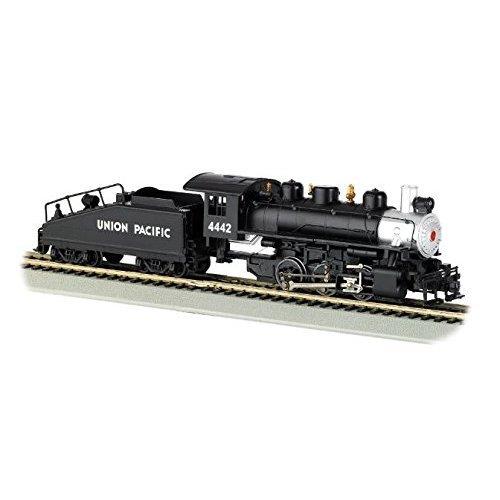 Bachmann Industries Usra 0 6 0 HO Scale 4442 U P Locomotive Silver and Black