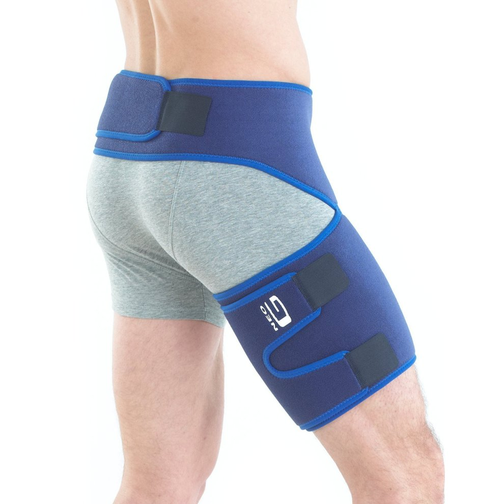 d814c1a0d5 Neo G Groin Support - For Joint Pain, Pulled Groin, Sciatic Nerve Pain, Hip,  Thigh, Hamstring Injury, Recovery and Rehab - Adjustable Compression... on  ...