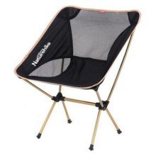 Portable Folding Chair Stool Camping Chairs Moon Fishing Travel Paint Outdoor, Gold