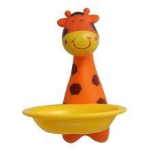 Creative Kids Cartoon Bathroom Strong Chuck Soap Holder Soap Dish Giraffe