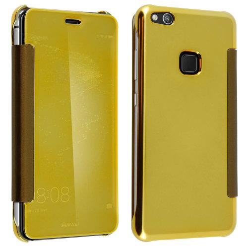super popular 2ae19 3df5c Flip Case, Mirror Case for Huawei P10 Lite, see through front flip â ...