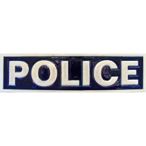 Reflective POLICE Patch -Blue-10 x 3cm