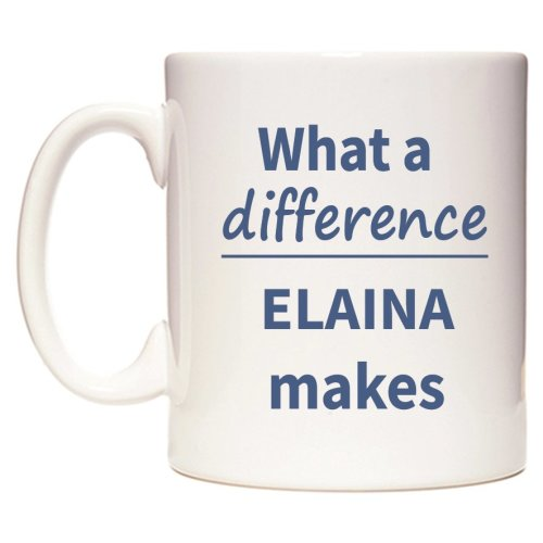What a difference ELAINA makes Mug