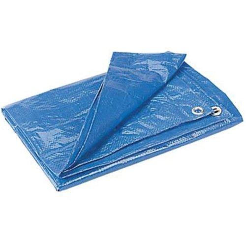 Poly Tarp 121001 8ft. x 10ft. Tarp - Blue