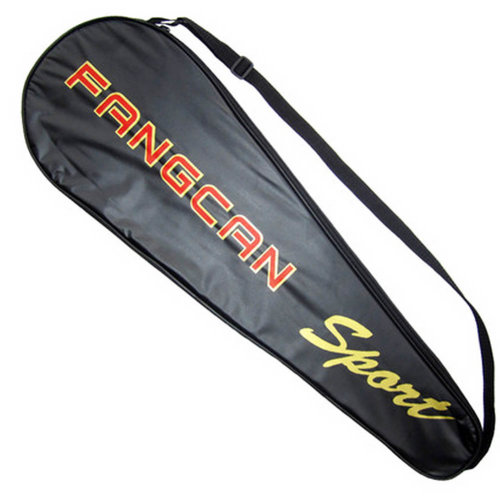 Adjustable Shoulder Strap Badminton Racket Cover Badminton Racket Bag Tennis Bag (2 Racquet), a
