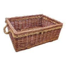 Cheltenham Rope Handle Wicker Basket