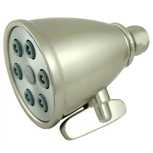 Kingston Brass K138A8 6 Spray Nozzles Power Jet Shower Head - Satin Nickel