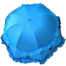 Lace Sunny Umbrella Princess Umbrella Arch  Vinyl  Parasol UV Sunscreen