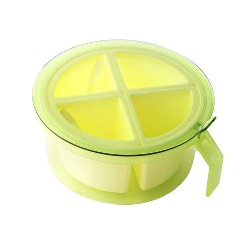Candy Color Seasoning Box Salt Pepper Spice Box, GREEN