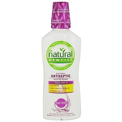 Natural Dentist Rinse Antiseptic Cool Mnt 169 Fz