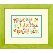 D71-06244 - Dimensions Embroidery - Love Life