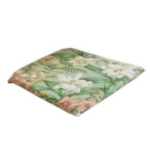 [Lily] Floral Comfortable Chair Pad 40*40CM Square Chair Cushion