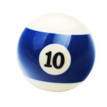 1 PCS Cue Sport Snooker USA Pool Billiard Balls 57.2 mm /2-1/4 - NO.10