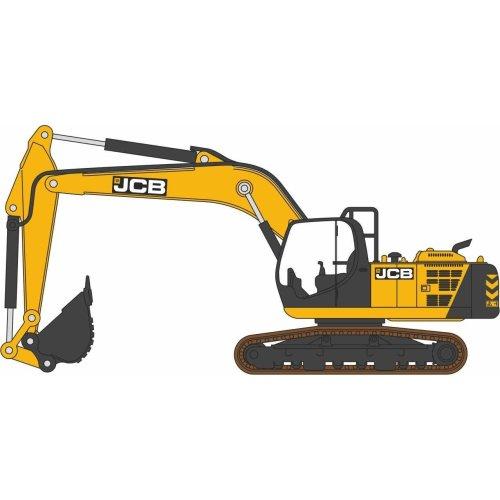 Oxford Diecast JCB JS220 Tracked Excavator JCB
