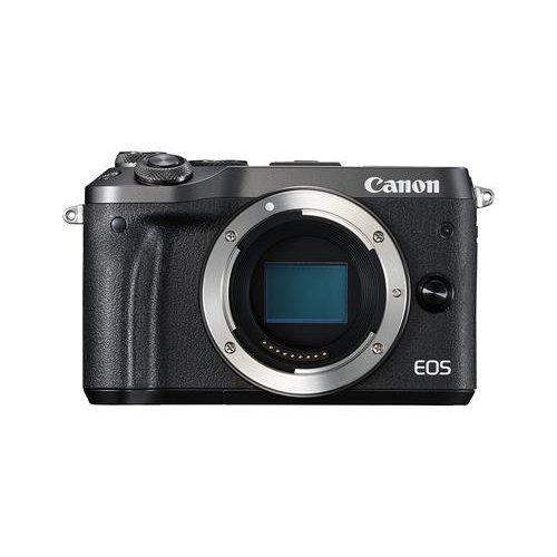 Canon M6 Mirrorless Camera - Black