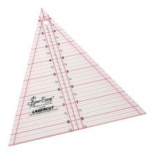 Sew Easy Patchwork Triangle Template Ruler 8.5 x 7in