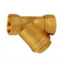Brass Inline 0,5mm Mechanical Water Filter Washer 1/2 3/4 1 Inch Dirt Removal