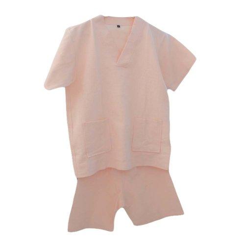 Cotton Waffle Fabric Pajamas Khan Steam Clothes Short Pajamas Suit Loungewear