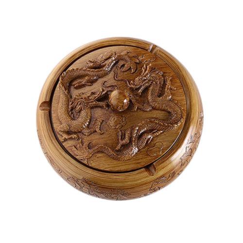 Creative Resin Dragons Ashtray Retro Home Decoration Great Gift