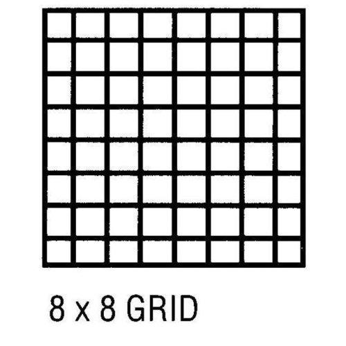 Alvin CP10202222 Grid Vellum 18x24 8x8 10sht