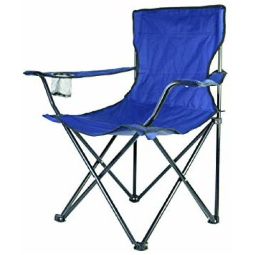 Redwood BB-FC102 Canvas Chair with Arms - Blue