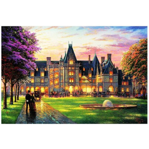Castle Party, Fashionable Wooden Puzzle For Adult 1000 Piece Jigsaw Puzzle