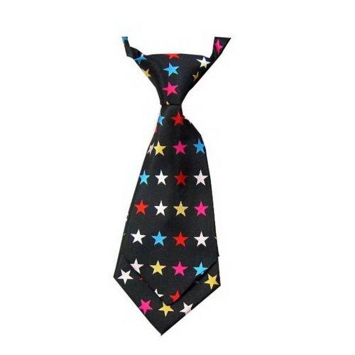Unique Baby Tie Adjustable Neck Tie Party Wedding Show Tie Girl Boy Tie [Stars]