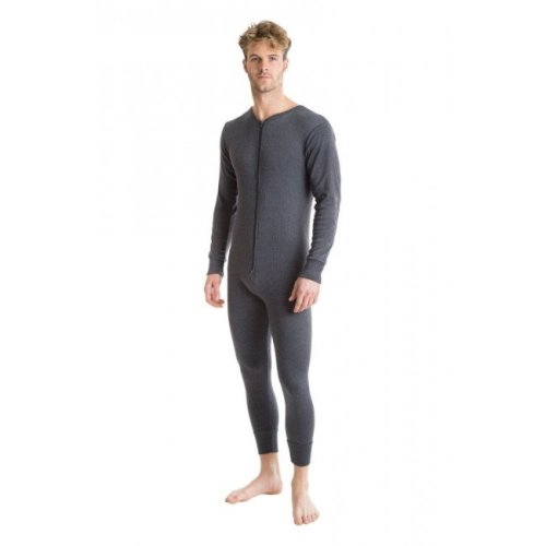 OCTAVE Mens Thermal All-In-One Suit With Rear Flap
